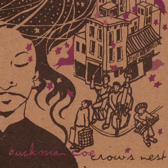 Buckman Coe 'Crow's Nest' Album Cover