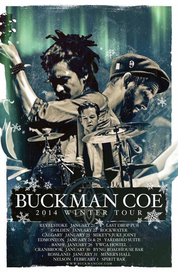 Buckman Coe_Winter 2014 Tour Poster_web