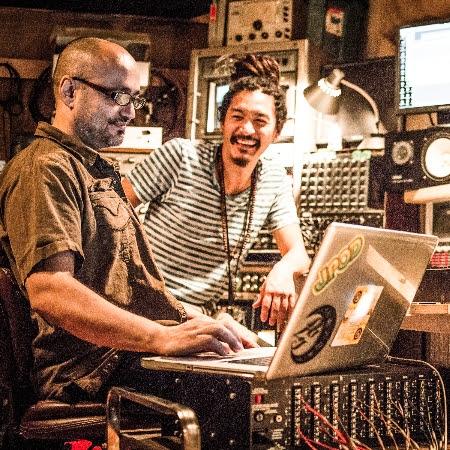 BC_Adham Shaikah & BC in the studio