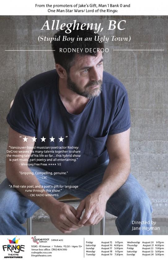 Rodney DeCroo_Edmonton Fringe Fest_Poster_Final
