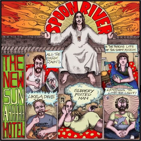 The New Sun AHHHH Hotel_Album_FRONT