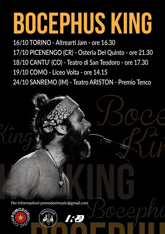 Bocephus King_Italy Fall 2015