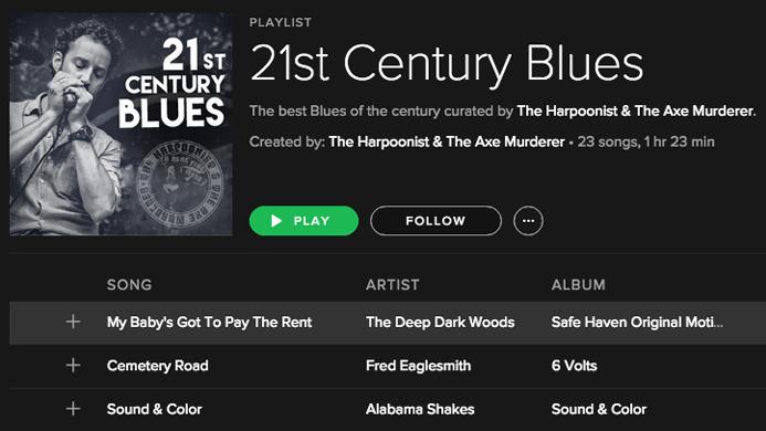 HAM Spotify playlist
