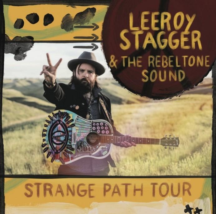 Strange Path_Tour Poster_Vancouver