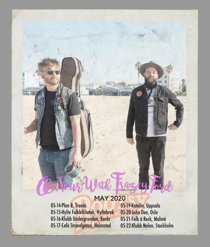 Frazey Ford Scandi Tour Poster